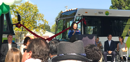 New Novato Transit Center Opens in Marin County