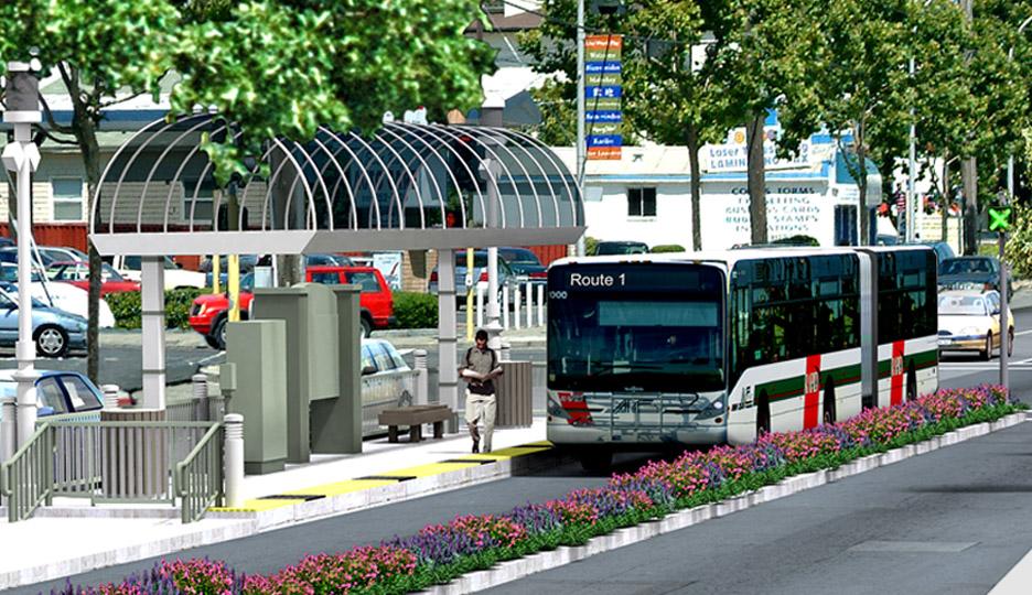 AC Transit East Bay Bus Rapid Transit Project