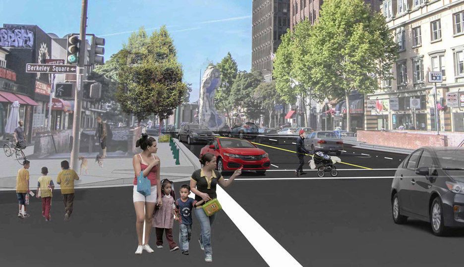 Shattuck Avenue Reconfiguration and Pedestrian Safety Project