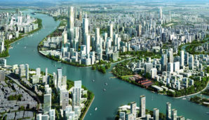 Guangzhou Baietan Area Master Plan