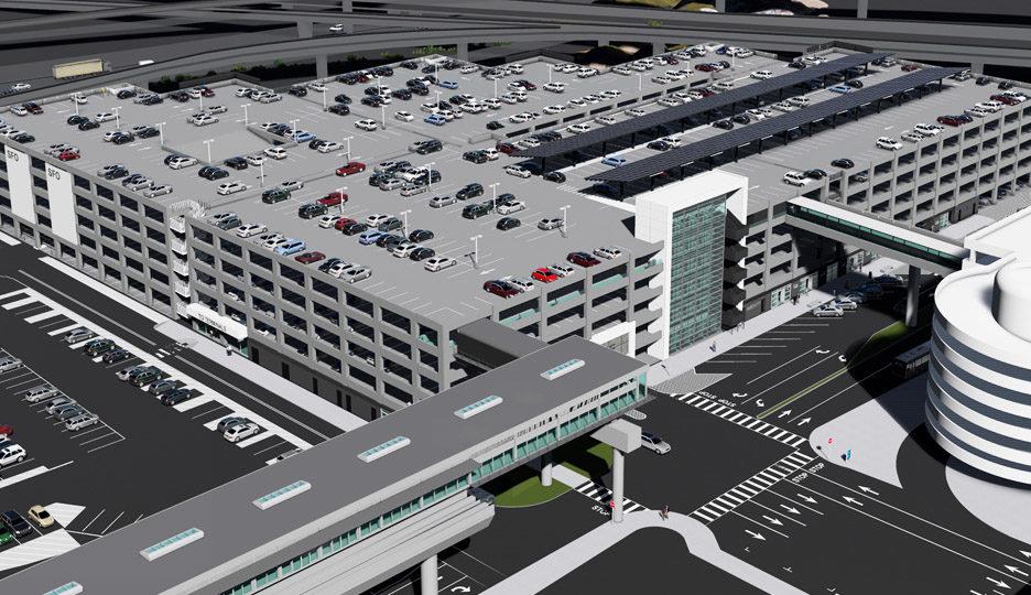 San Francisco International Airport Long-Term Parking Garage #2