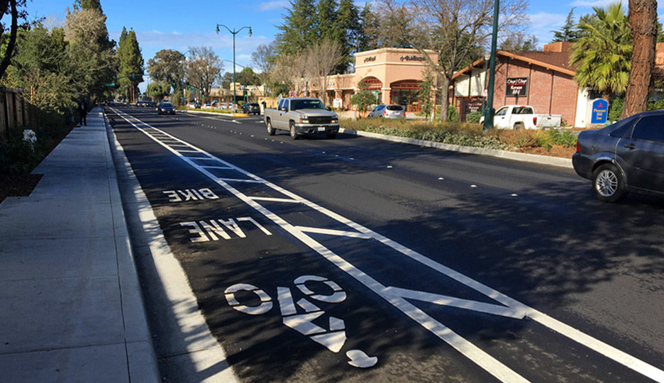 Contra Costa Boulevard Bicycle/ Pedestrian Improvements