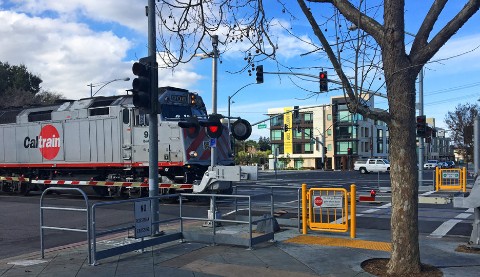 Caltrain Grade Crossing